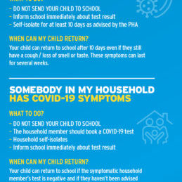 DE COVID Parent & Carer Information phone version